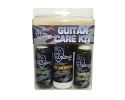 Набор D'ANDREA GCKD д/ухода за гитарой: полироль,лимонное масло,очиститель струн,салфетка