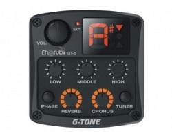 Звукосниматель CHERUB GT5 гитарный цифровой с эквалайзером и тюнером